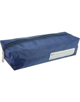 BARREL PENCIL CASE - BLUE - BPC102