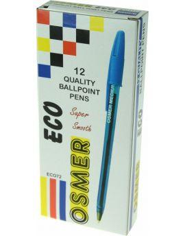 ECO BALLPENS - DOZEN - BLUE - ECO72