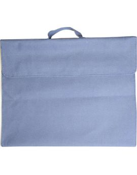 OSMER LIBRARY BAGS - POLYESTER 600D - BLUE - LB102