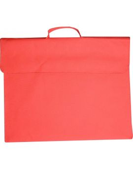 OSMER LIBRARY BAGS - POLYESTER 600D - RED - LB103
