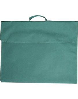 OSMER LIBRARY BAGS - POLYESTER 600D - GREEN - LB104
