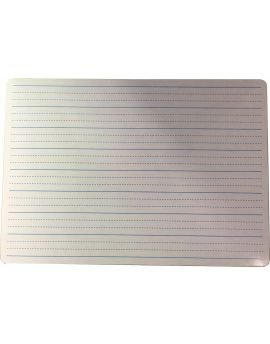 STUDENT WHITEBOARD - A4 - MDF - DOUBLE SIDED - PLAIN & DOTTED THIRDS - MWBPRINT3
