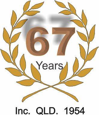 67 years logo