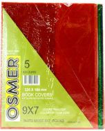 """9"""" X 7"""" TINTED BOOK COVER - PACK OF 5 - BC9719"""