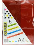 A4 TINTED BOOK COVER - PACK OF 5 - BCA419