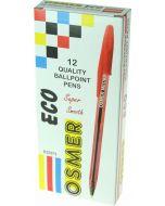 ECO BALLPENS - DOZEN - RED - ECO73