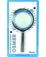 MAGNIFYING GLASS - ABS HANDLE - 75MM - MG75