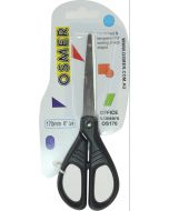 OSMER 170MM SCHOOL SCISSORS - BLACK HANDLE - OS170