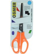 OSMER 178MM SCHOOL SCISSORS - ORANGE HANDLE - OS208