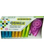 OSMER 5mm X 6 METRE CORRECTION TAPE - 10 PIECE BULK PACK - OCT600B