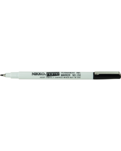 NIKKO NAME PEN - BLACK  - LAUNDRY & FREEZER MARKER - BOX OF 25 - 1501