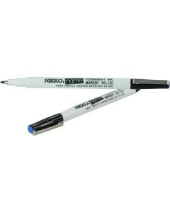 NIKKO NAME PEN - BLUE INK - DOZEN - 1502