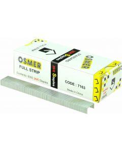 26/6 OSMER STANDARD , FULL STRIP STAPLES.  BOX OF 5,000 - 7163