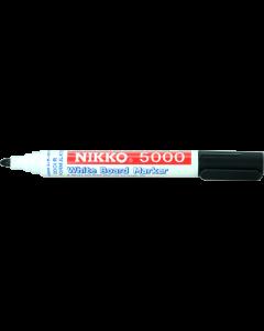 NIKKO WHITEBOARD MARKERS - DOZEN - BLACK - 5001