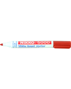 NIKKO WHITEBOARD MARKERS - DOZEN - RED - 5003
