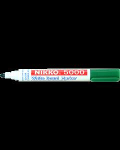 NIKKO WHITEBOARD MARKERS - DOZEN - GREEN - 5004
