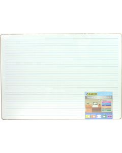 MDF WHITEBOARD - MAGNETIC - A3 - DOUBLE SIDED - PLAIN & DOTTED THIRDS - A3PRINT
