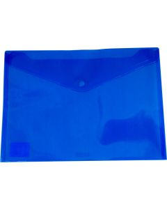 DOCUMENT WALLETS - A4 - TINTED BLUE - A4W22