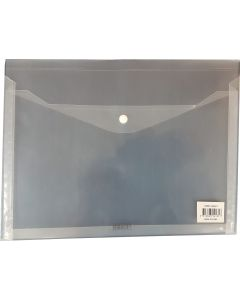 GUSSET DOCUMENT WALLETS - A4 - CLEAR - GWA413