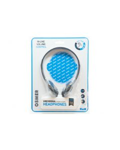 HEADPHONE WITH VOLUME CONTROL - 3.5MM PLUG - HP101