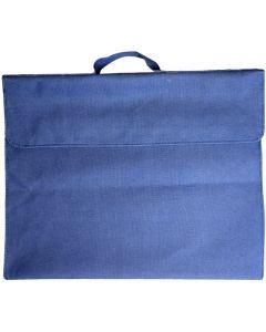 OSMER LIBRARY BAG - POLYESTER 600D - BLUE - LB102