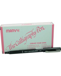 MARVY CALLIGRAPHY PENS  - 5mm TIP - DOZEN - M6051S