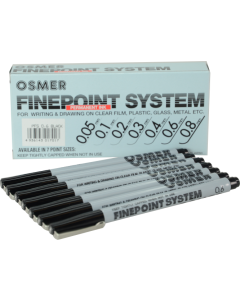 FINE POINT SYSTEM PENS - PERMANENT - DOZEN - PFS61
