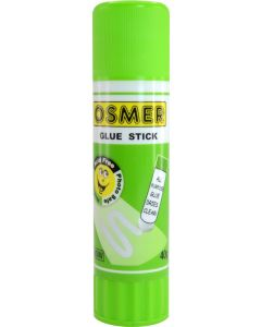 OSMER GLUE STICK - WHITE 40 GRAM - TRAY OF 10 - OG40W