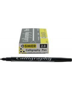 CALLIGRAPHY 2.00mm PEN - OSMER - DOZEN - OS6021