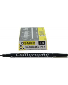 CALLIGRAPHY 3.0mm PEN - OSMER - DOZEN - OS6031