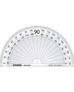 OSMER 180 DEGREE 10CM PROTRACTOR - PR10180