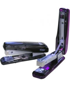 STAPLER - ADORO - HALF STRIP - TRANSLUCENT COLOURS -AS45NT