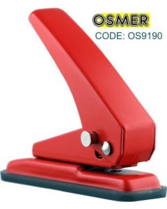 OSMER 1 HOLE PAPER PUNCH  -  20 SHEETS - OS9190