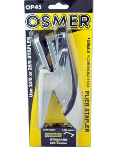 OSMER PLIER STAPLER WITH BOX OF 1000 26/6 STAPLES - OP45