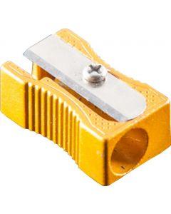 1 HOLE ALUMINIUM SHARPENER - BOX OF 24 - PS1004