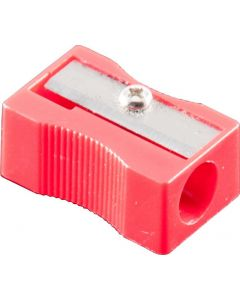 1 HOLE PLASTIC SHARPENER - BOX OF 24 - PS0002