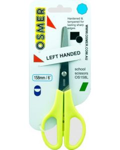 OSMER 158mm LEFT HAND SCHOOL SCISSOR - OS158L