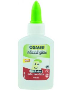 OSMER SCHOOL GLUE GUM/MUCILAGE 40ML BOTTLE - GEL40