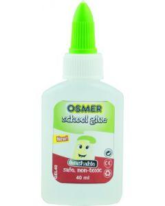 OSMER SCHOOL GLUE GUM/MUCILAGE 40ML BOTTLE - GEL40