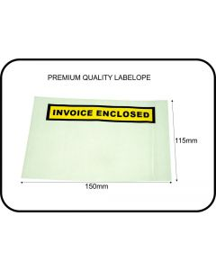 INVOICE ENCLOSED LABELOPE - BOX 1000 - IE1511
