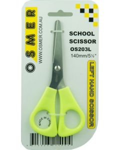 OSMER 140mm LEFT-HAND SCHOOL SCISSOR - OS203L