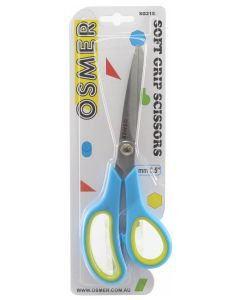 OSMER 215MM PREMIUM SOFT GRIP SCISSORS - SG215