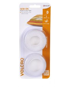 VELCRO® BRAND ONE METRE 25mm SEW ON PACK - V95001